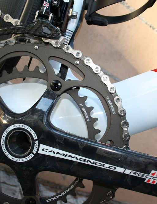 Philippe Gilbert (Omega-Pharma Lotto) looks like he doesn't use the inner ring much…