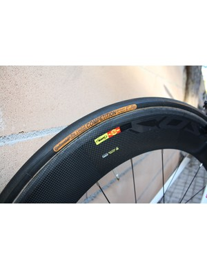 Continental's Competition Pro Limited Allround tubulars are a popular choice in the professional ranks.