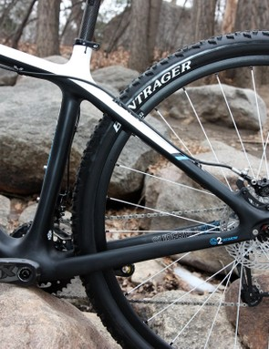 Trek sticks to medium-sized chain and seat stays on the latest Superfly Elite.