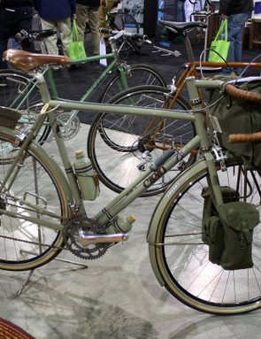 Chris King's frame building division, Cielo, brought a full complement of bikes to last year's NAHBS.
