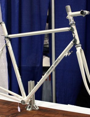 Herbie Helm was a new builder to last year's show but made a big splash with this ornate lugged frameset.