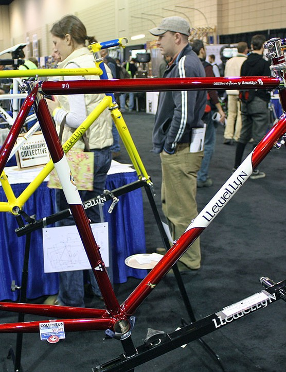 Australian builder Darrell McCulloch brought this gleaming red machine to last year's NAHBS.