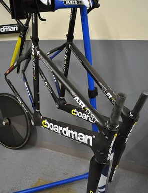 Team issue Boardman frames for UnitedHealthcare Pro Cycling