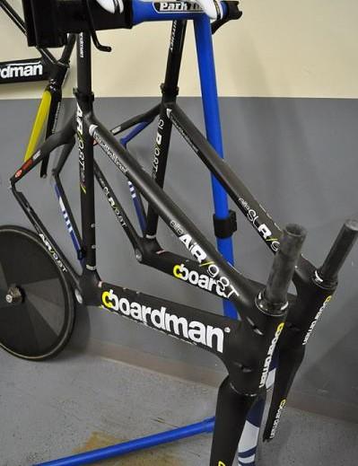 Team issue Boardman frames for UnitedHealthcare Pro Cycling