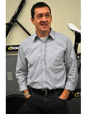 Chris Boardman was on hand to provide aero position advice for the bikes he supplies to UnitedHealthcare Pro Cycling