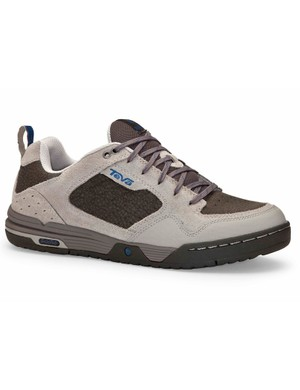 The more economical (US$80) Pinner mountain bike shoe