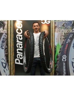 Cedric Gracia now has a five-strong line of mountain bike tyres at his disposal