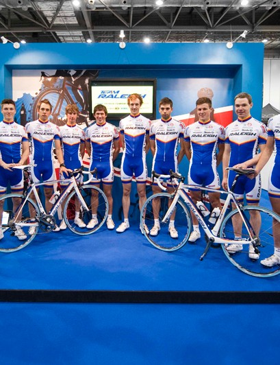 The full Team Raleigh line-up