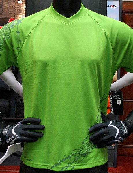 Altura's Mayhem Bamboo Abstract Tee jersey – the colour's not for everyone but it's 'very 2011'