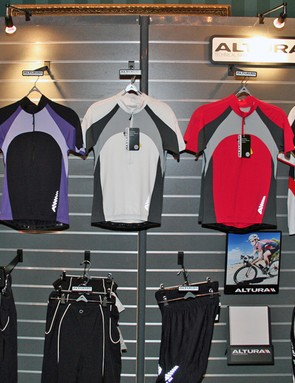 Altura women's road jerseys and shorts