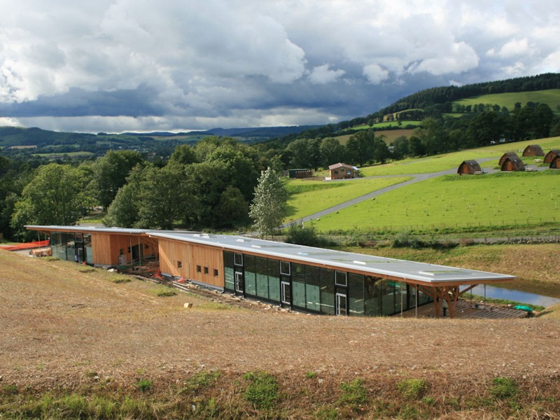 Contracts have been awarded for the new Glentress Peel visitor centre, due for completion later this year