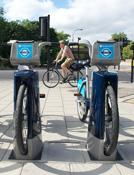 Initiatives like the Barclays Cycle Hire scheme's 'Boris bikes' have helped drive a rise in cycling in London