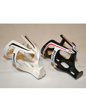 Zefal fibreglass (£9.99, 40g) and carbon fibre (£34.99, 30g) bottle cages
