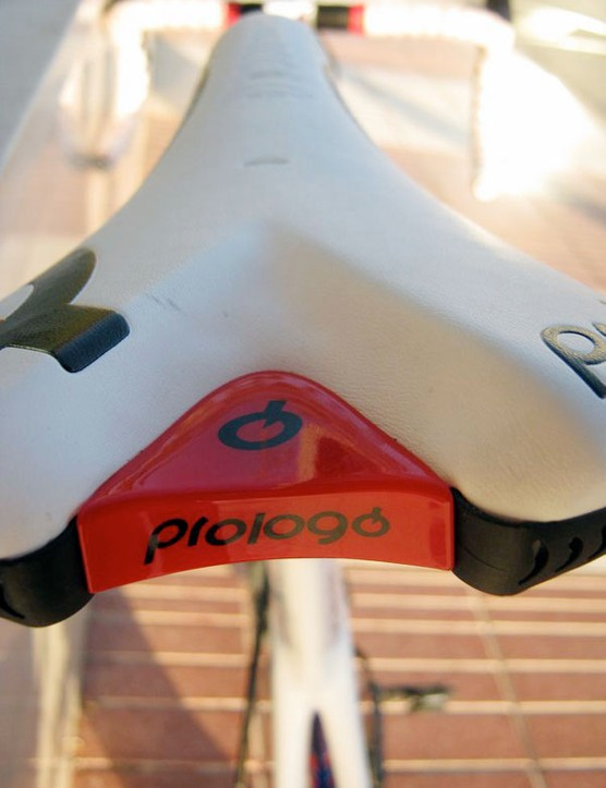 Prologo is the official saddle supplier for Quick Step this year.