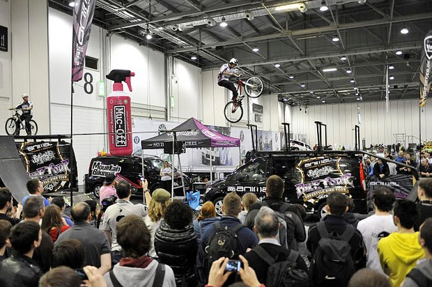 The London Bike Show will be back in 2012, with the same mix of new bikes and kit, stunt shows and demo rides
