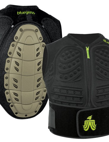 Bluegrass Grizzly chest and spine protector