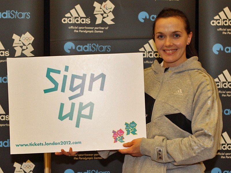 Like Victoria Pendleton says, if you're interested in attending the 2012 Olympics you'd better register your interest now
