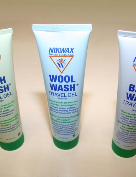 Nikwax Tech Wash, Wool Wash and Base Wash