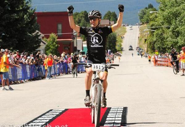 Radioshack's Levi Leipheimer won the 2010 Leadville Trail 100