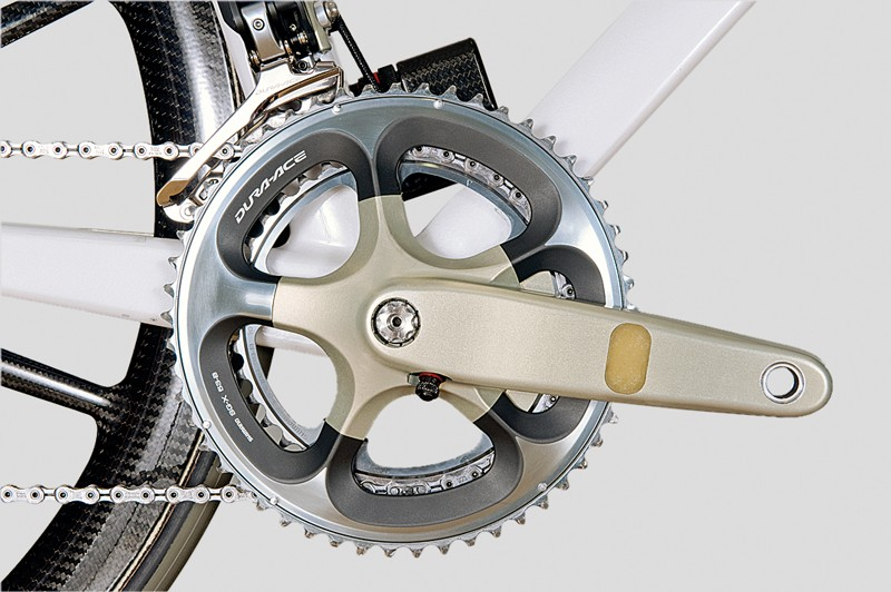 BERU designed a power meter that doesn't need to be calibrated every ride and is accurate to 0.1 per cent