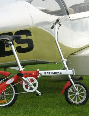 The Batribike Micro, the world's smallest folding electric bike