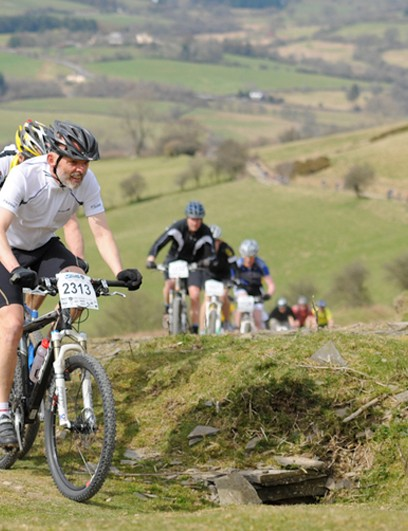 Action from last year's round at Bulith Wells in Wales