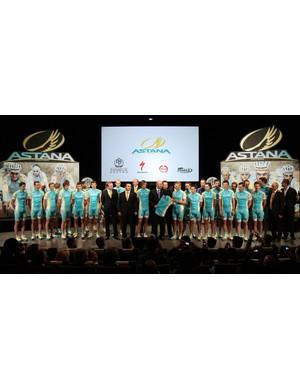 The Astana team for 2011