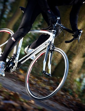 The Specialized boasts a smooth, buoyant ride feel and very adjustable, comfortable rider position