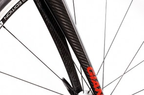 Giant's alloy topped OverDrive fork is  heavy and basically constructed, but still  rides really well