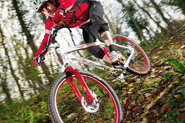 Unusually for a bike at this price, there's little on the Specialized Rockhopper that we'd change immediately