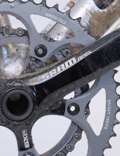 SRAM offers a new level of budget-based performance with Apex, but there are concessions made, namely crank stiffness and braking performance