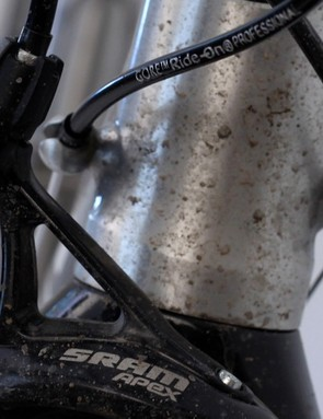 SRAM's GORE made Professional Sealed cable kit made all the difference for Apex's shifting performance
