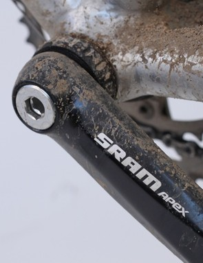 The Apex bottom bracket features SRAM's new Gutter Seal sealing; it ran smooth once broken in and held up perfectly