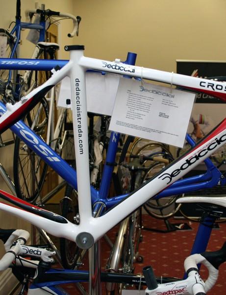 Dedacciai Cross cyclo-cross frame – £1,225 (frameset, 1,600g)
