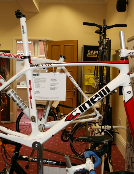 Cinelli's Saetta is a more affordable version of the Saetta Sprint