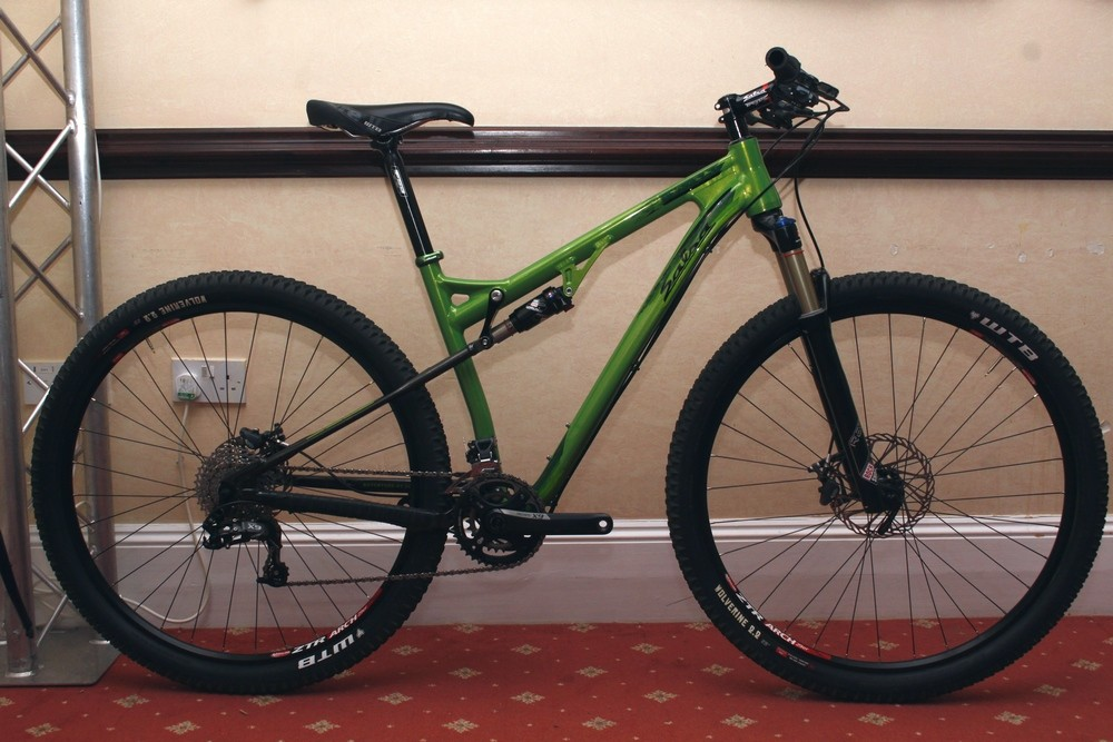 The Spearfish is Salsa's new full-suspension 29er