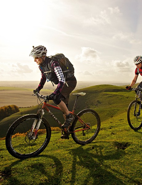 Training: Mountain bike pedalling technique