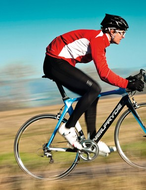 lively enough to race, stable enough if you want to fi t tri-bars and enter time-trials or triathlons