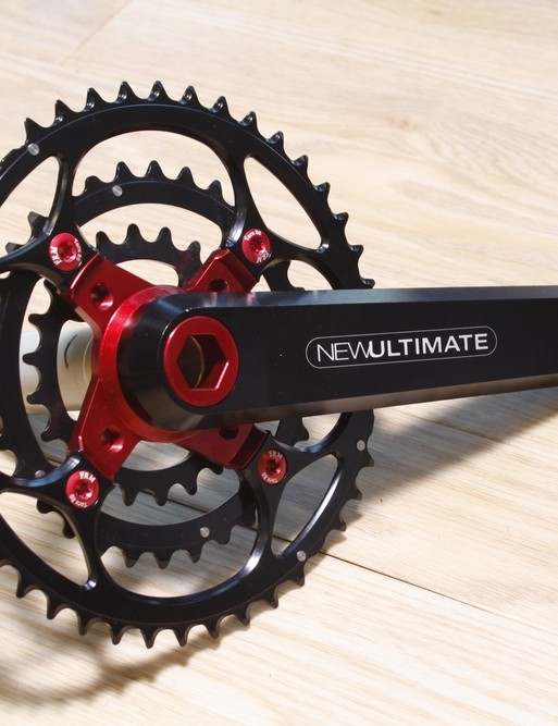 New Ultimate prototype mountain bike crank