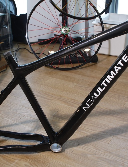 New Ultimate prototype carbon hardtail frame