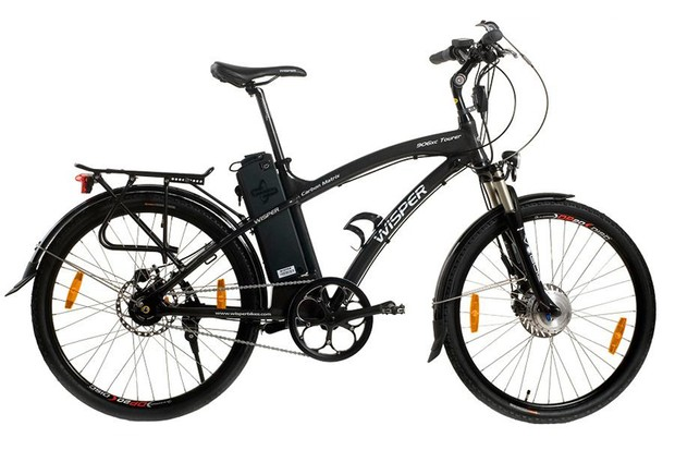 City of London Police want to see if an electric bike like this Wisper 906xc Tourer will help them with their duties