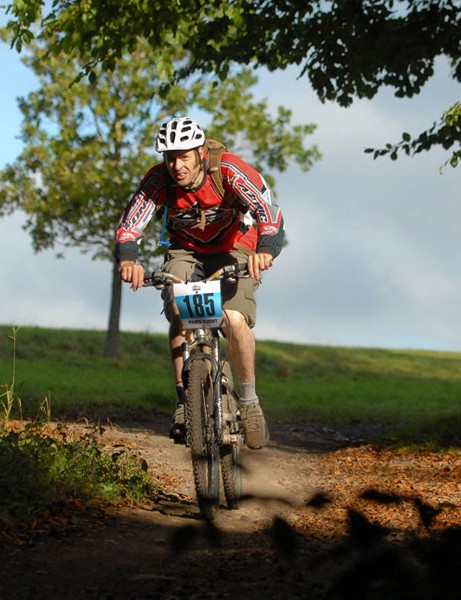 This year's Bikefest course will apparently run the 'right' way around Ashton Court, following the waymarked trail