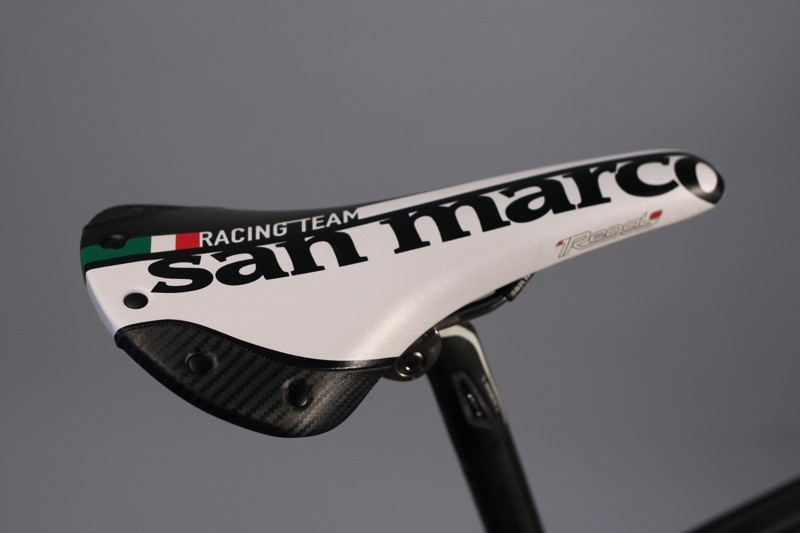 Selle San Marco's Regale Racing Team saddle