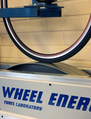 One of Wheel Energy's most important tests covers rolling resistance