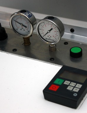 Test conditions are carefully controlled and monitored to yield consistent results