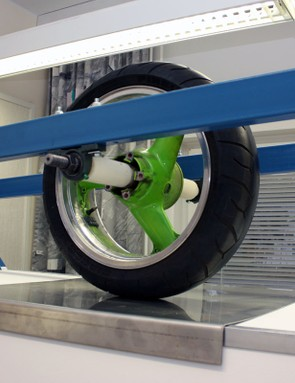 Wheel Energy also test tires for other vehicle types