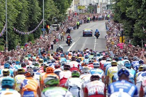 Organisers hope for a carnival atmosphere, with crowds lining the streets like when London hosted the first stage of the 2007 Tour de France
