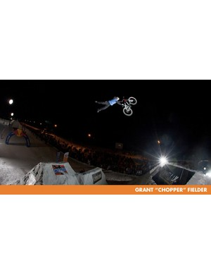 Grant Fielder designed the course at last month's Whitestyle in Leogang