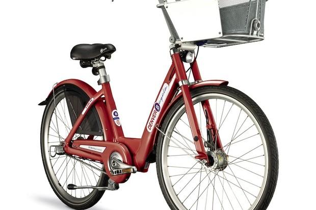 Trek builds the proprietary B-Cycle rental bikes
