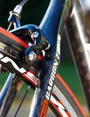 Both fork and frameset are light for their low cost, creating a lightweight and lively overall package